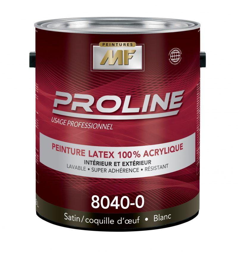 """alt="""" contenant 1 gallon peinture proline 100% acrylique"""""""